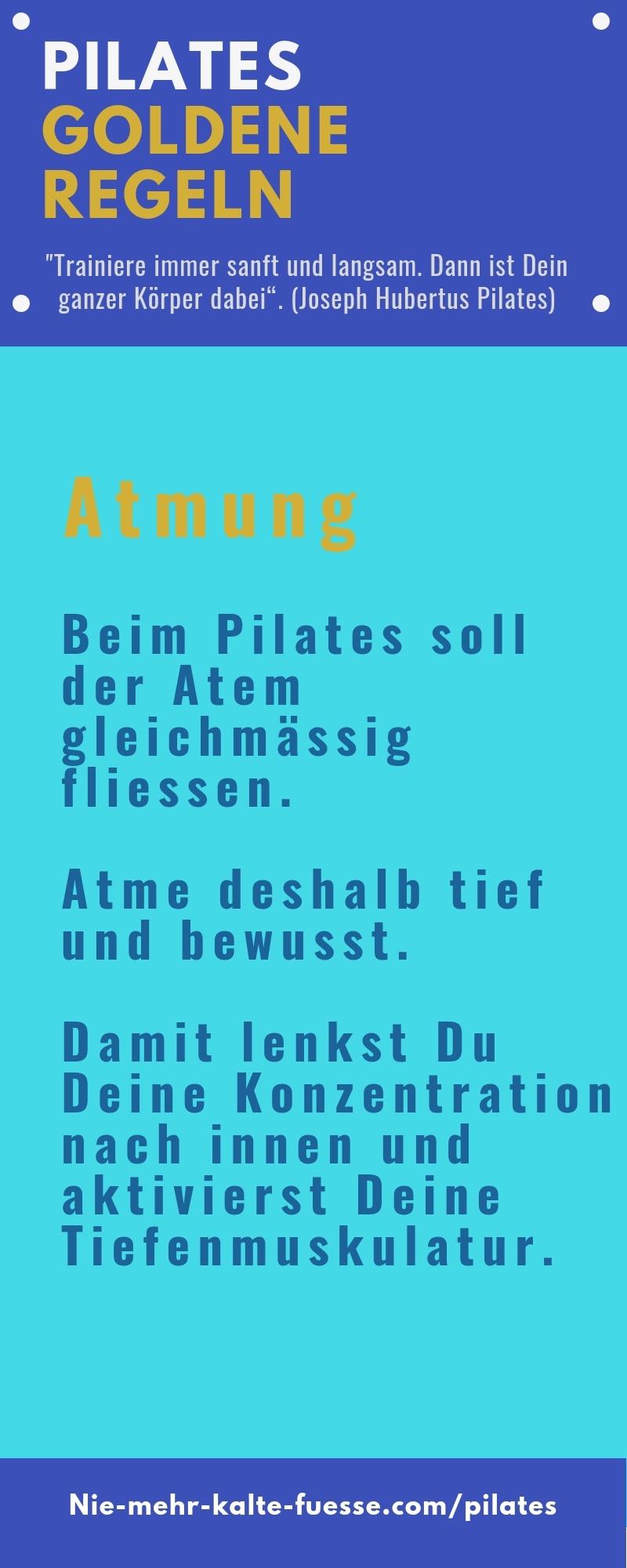 Atmung Pilates