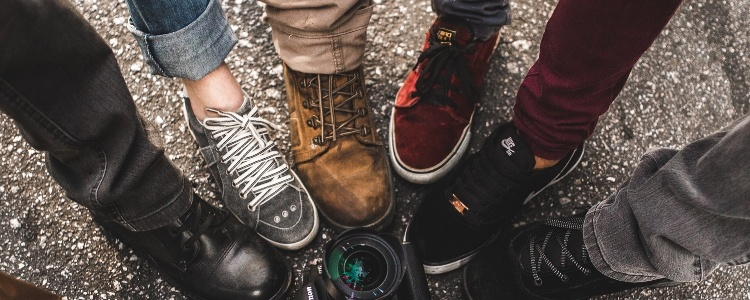 Schweißfüße – Sneakers